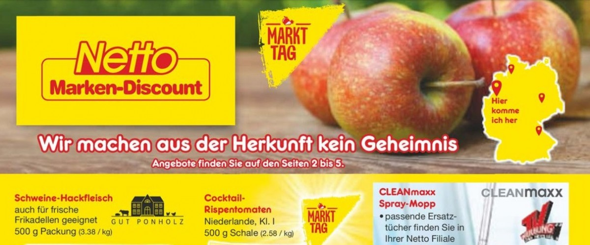 Netto Marken Discount Prospekt Kw 39 Das Beste Aus Ost Und West