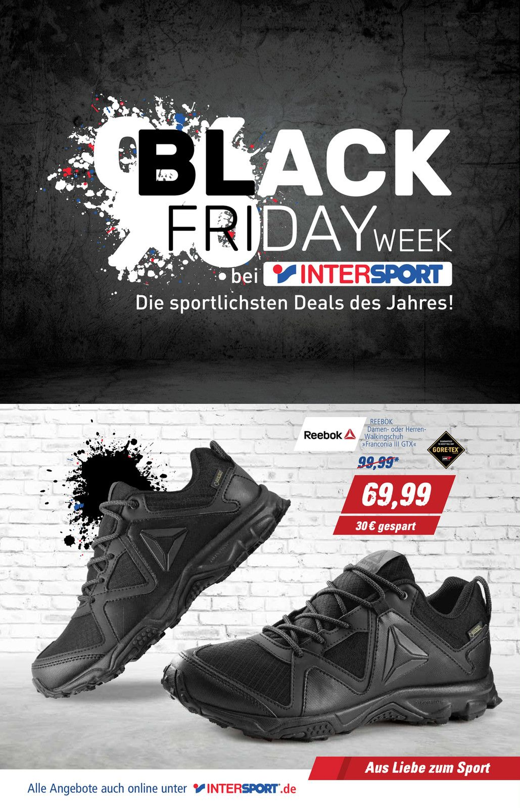 intersport black friday week angebote im aktuellen prospekt. Black Bedroom Furniture Sets. Home Design Ideas
