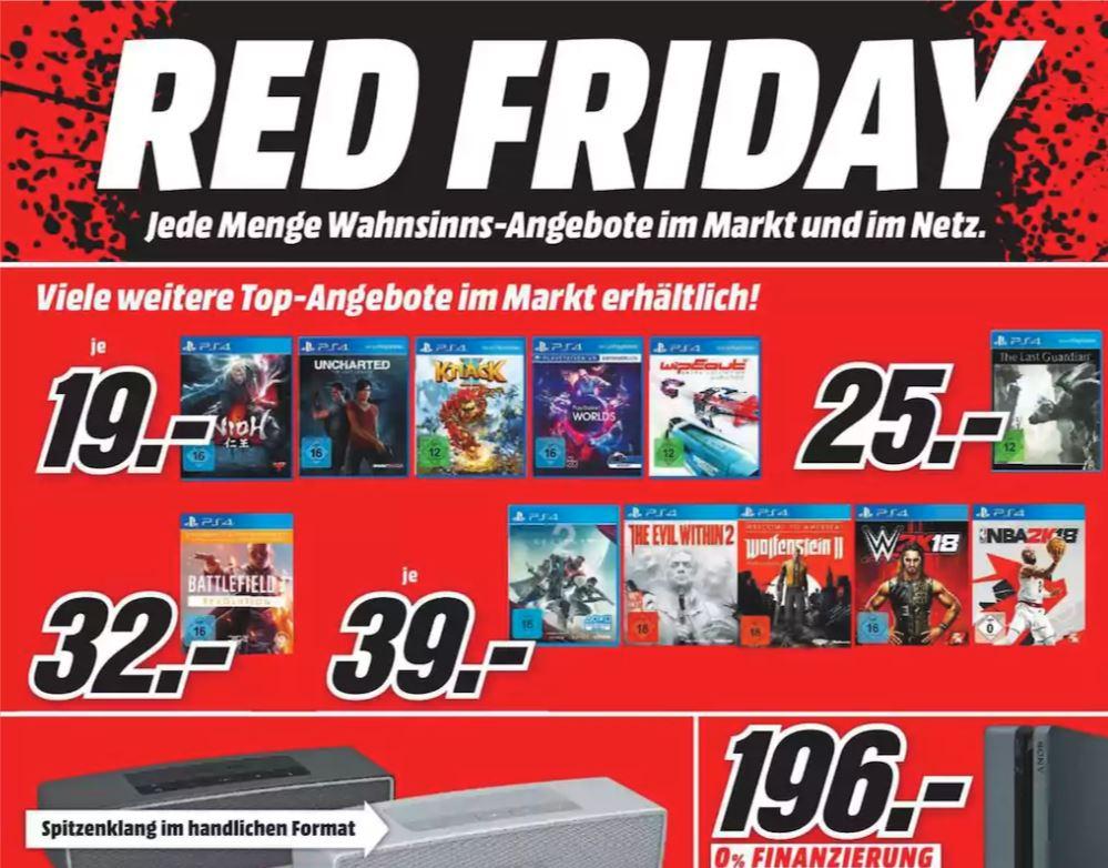 Media Markt Red Friday Angebote Gültig Am 24. November