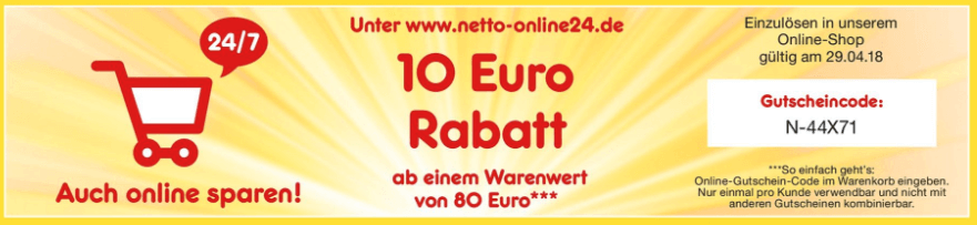 Netto Coupon Rabattcode