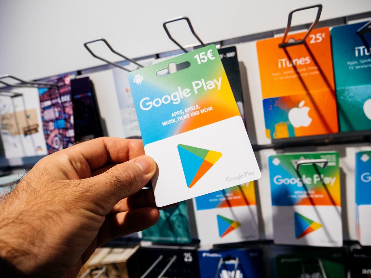 Wo Kann Man Mit Google Play Guthaben Bezahlen