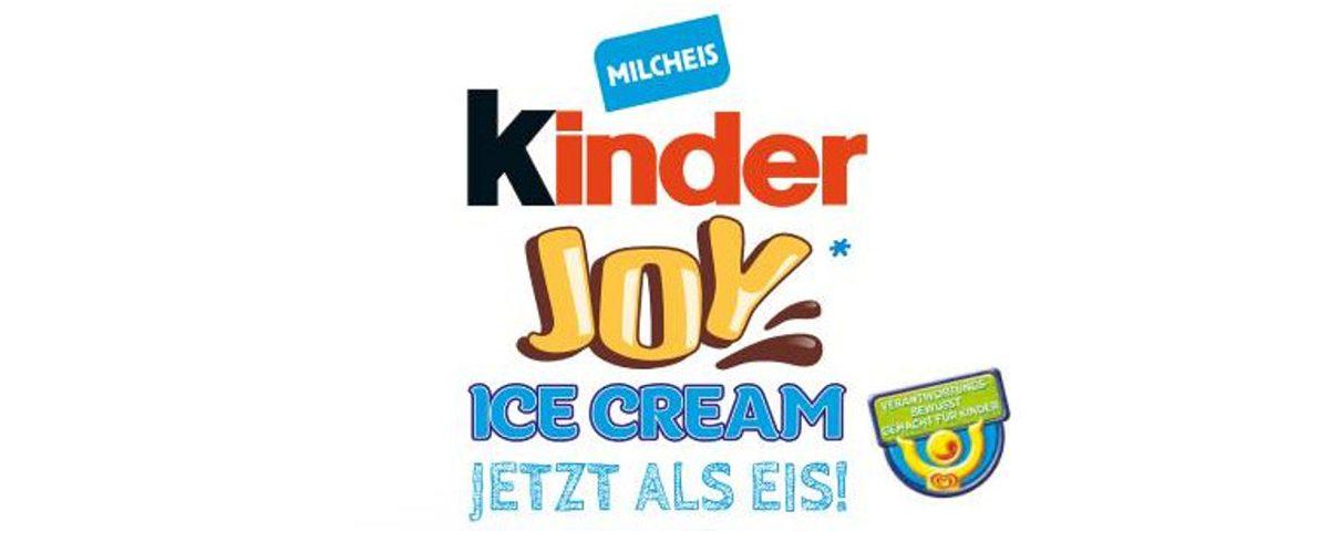 Kinder Joy Ice Cream Eis Der Nächste Eis Traum Wird Wahr