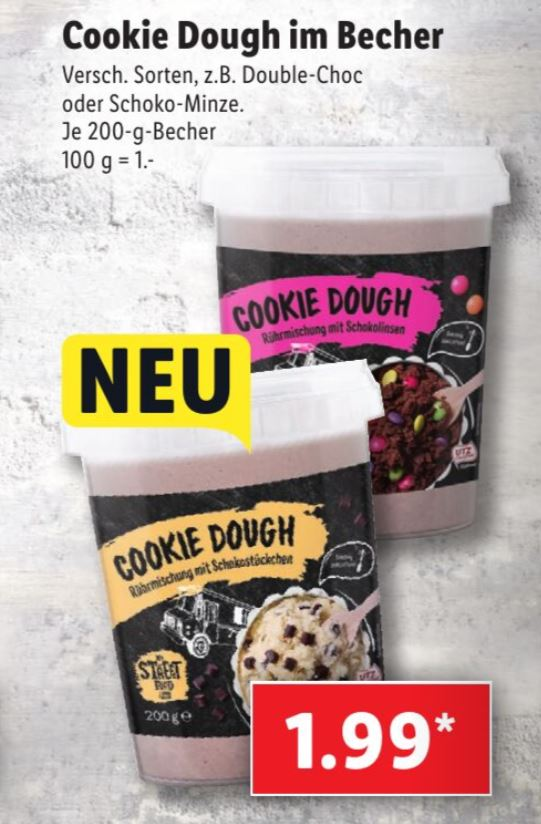 Cookie Dough Lidl