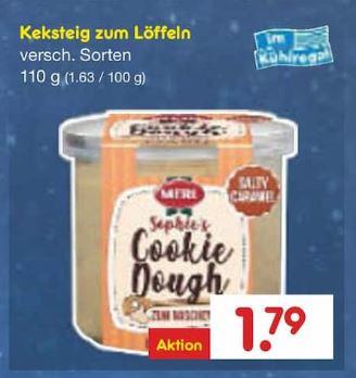Wo Gibt Es Cookie Dough Rohen Keksteig Zu Kaufen
