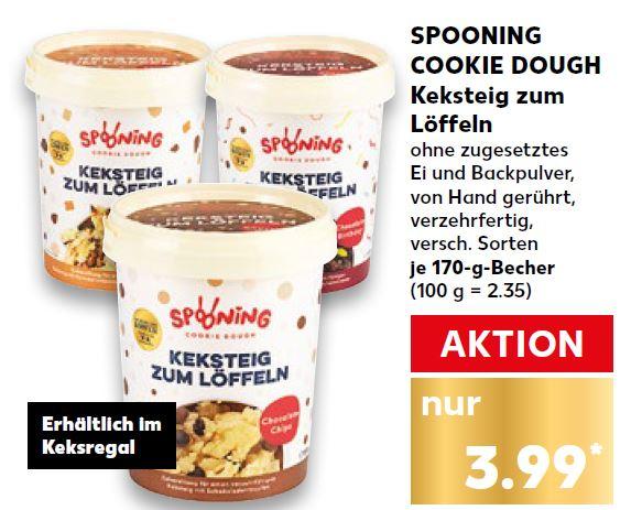 Spooning Cookie Dough Keksteig Zum Löffeln Bei Kaufland Im Angebot