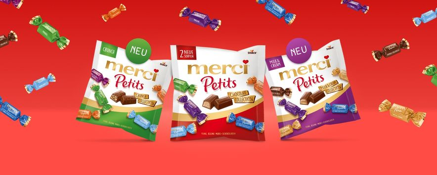 Merci Petits Crunch & Milka and Cream