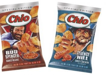 Limited Edition Chio Chips Bud Spencer Terence Hill