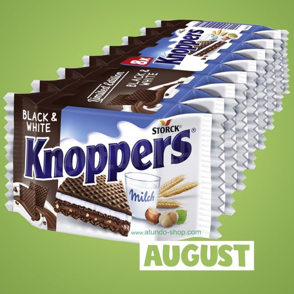 Limited Edition Knoppers Black and White