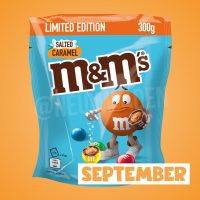M&M's Salted Caramel Limited Edition