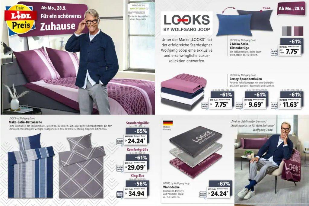 Lidl Bringt Neue Looks By Wolfgang Joop Kollektion An Den Start