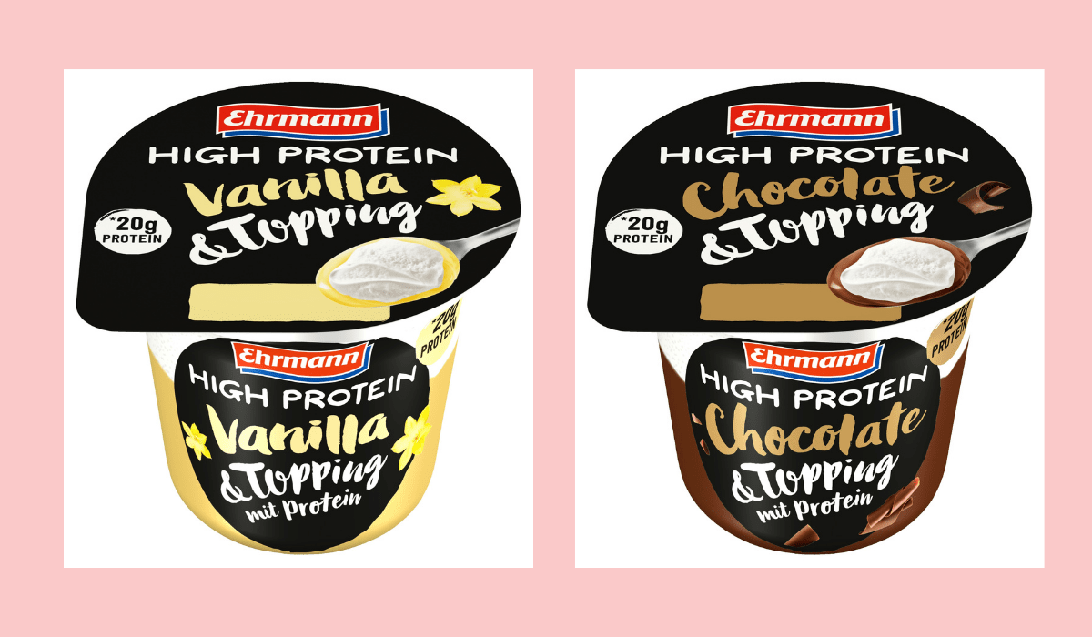 Ehrmann High Protein & Topping