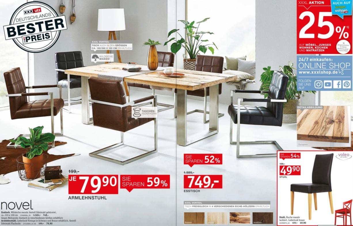 xxxl esstische. Black Bedroom Furniture Sets. Home Design Ideas