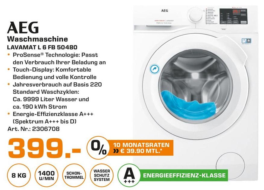Aeg Waschmaschine Angebot Saturn