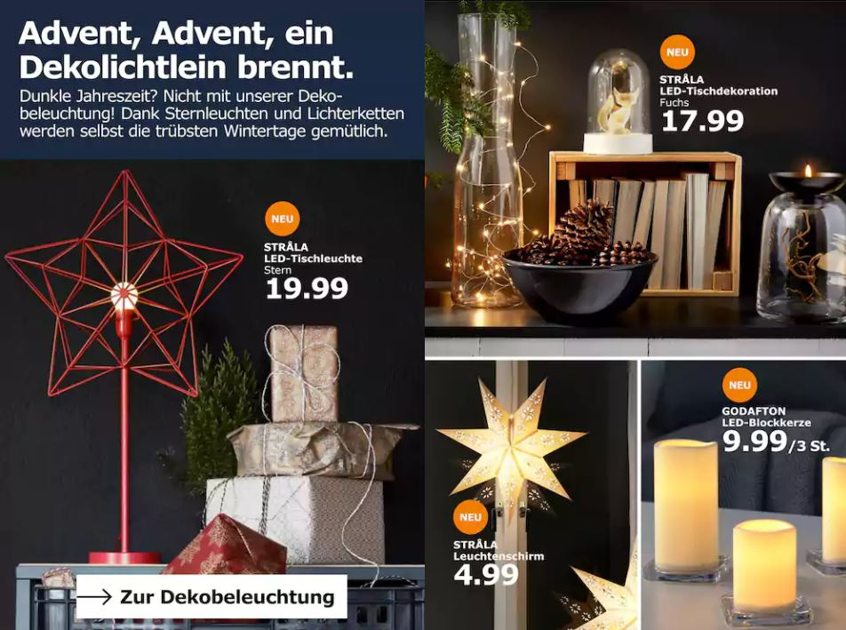 ikea weihnachten 2018 prospekt weihnachten 2018. Black Bedroom Furniture Sets. Home Design Ideas