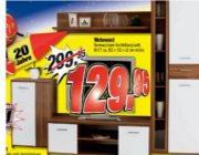 moderne 4 teilige wohnwand bei poco dom ne f r 129 95. Black Bedroom Furniture Sets. Home Design Ideas