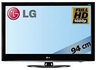 flachbildfernseher 37 39 39 full hd lcd tv 94 cm von lg. Black Bedroom Furniture Sets. Home Design Ideas