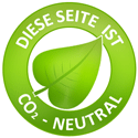 Online-Prospekte CO2 neutral
