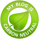 my blog is carbon neutral